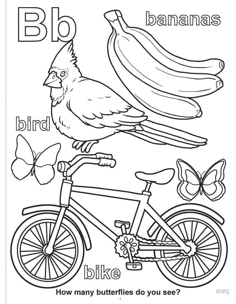 Coloring Books ABC123 Learn