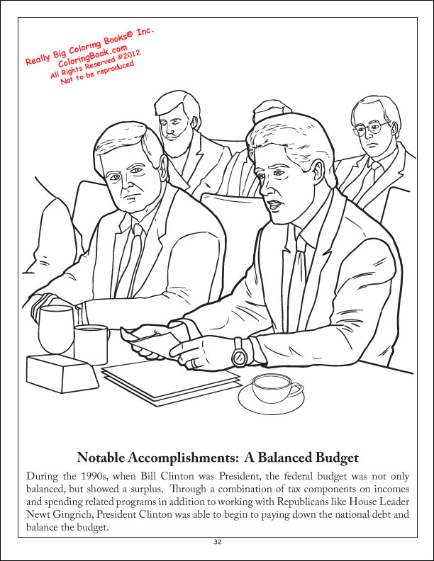 coloring pages for democratic party - photo#3